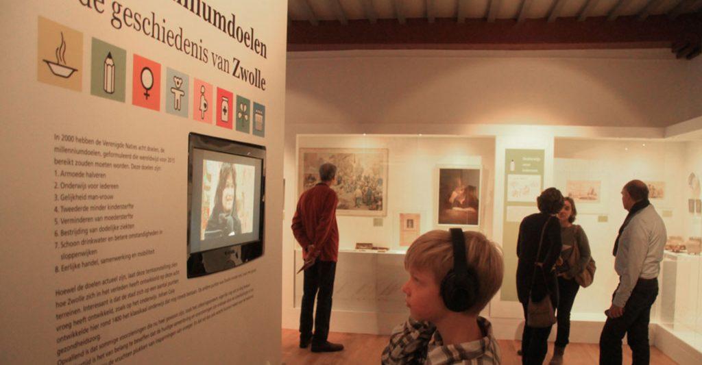 Johan akkerman - vormgeving musea - Geschiedenis van Zwolle